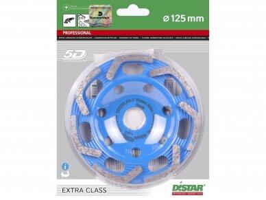 125MM DISTAR ROTEX Betono šlifavimo diskas 5
