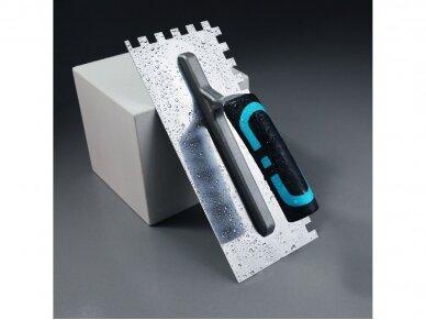 Dantyta glaistyklė 10x10x10mm dantukai, 280x120mm BIHUI 2