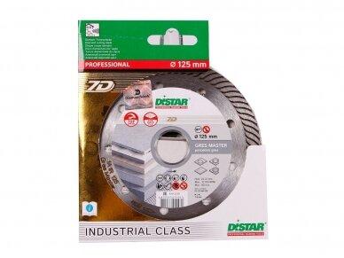 125MM DISTAR GRES MASTER Deimantinis diskas akmens masei 4