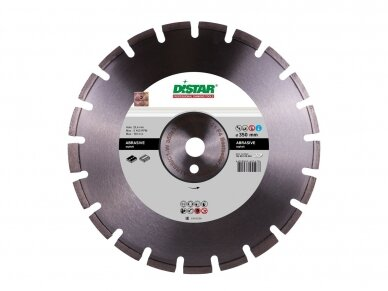 300 MM DISTAR BESTSELLER ABRASIVE F4 Deimantinis diskas asfaltui
