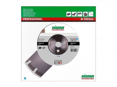 350 MM DISTAR BESTSELLER ABRASIVE F4 Deimantinis diskas asfaltui 3
