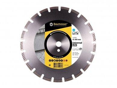350MM BAUMESSER UNIVERSAL Deimantinis diskas