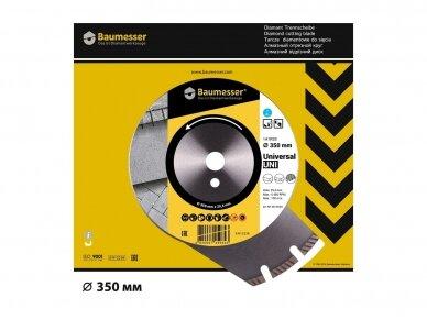 350MM BAUMESSER UNIVERSAL Deimantinis diskas 4