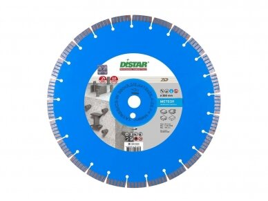 350 MM DISTAR METEOR Deimantinis diskas betonui