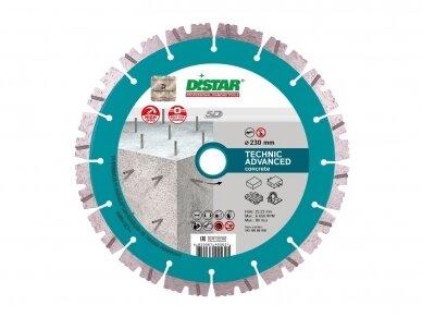 230MM DISTAR TECHNIK ADVANCED Deimantinis diskas betonui