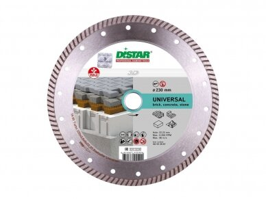 125MM DISTAR UNIVERSAL BESTSELLER TURBO Deimantinis diskas universalus