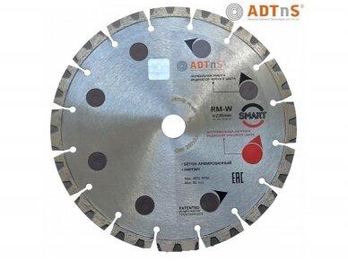 230MM ADTNS RM-W Smart Deimantinis diskas gelžbetonio pjovimui
