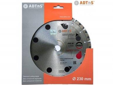 230MM ADTNS RM-W Smart Deimantinis diskas gelžbetonio pjovimui 2