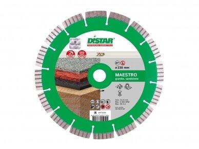 230MM DISTAR MAESTRO Deimantinis diskas granitui