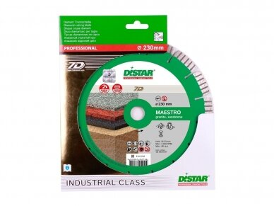 230MM DISTAR MAESTRO Deimantinis diskas granitui 3