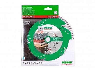 230MM DISTAR TURBO ELITE DUO Deimantinis diskas pjovimui ir šlifavimui 2
