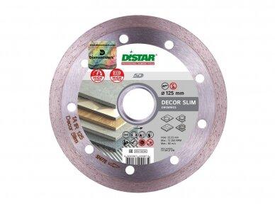 125MM DISTAR DECOR SLIM Deimantinis diskas plytelėms