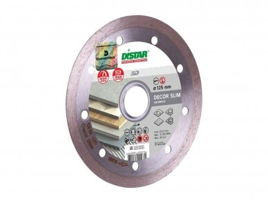 125MM DISTAR DECOR SLIM Deimantinis diskas plytelėms 2