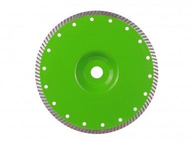 230MM DISTAR TURBO ELITE ACTIVE Deimantinis diskas su flanšu akmeniui ir granitui pjauti 3