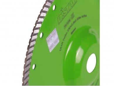230MM DISTAR TURBO ELITE ACTIVE Deimantinis diskas su flanšu akmeniui ir granitui pjauti 5