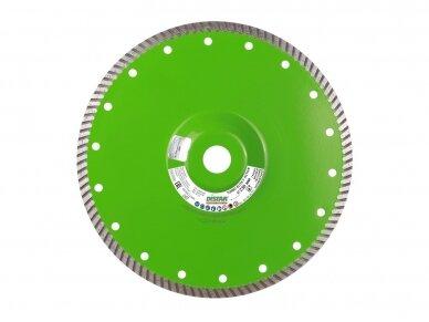 230MM DISTAR TURBO ELITE ACTIVE Deimantinis diskas su flanšu akmeniui ir granitui pjauti