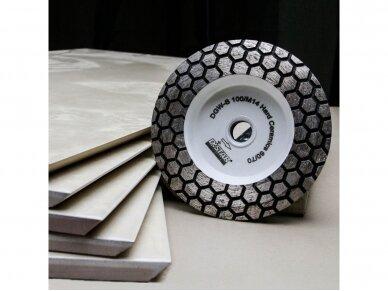 DISTAR 100 HARD CERAMICS Deimantinis plytelių šlifavimo diskas 4