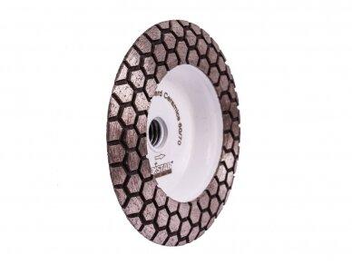 DISTAR 60 HARD CERAMICS Deimantinis plytelių šlifavimo diskas 2