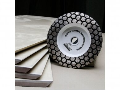 DISTAR 60 HARD CERAMICS Deimantinis plytelių šlifavimo diskas 4