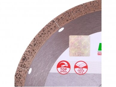 230MM DISTAR HARD CERAMICS ADVANCED Deimantinis diskas plytelėms 3