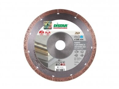 350MM DISTAR HARD CERAMICS ADVANCED Deimantinis diskas plytelėms