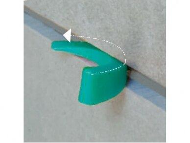 Plastikiniai pleištai plytelėms (50 vnt.) BIHUI 5