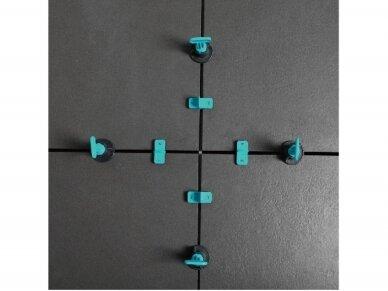 Plytelių lyginimo sistema, daugkartinė, 100vnt. BIHUI 4