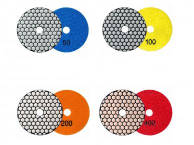 Poliravimo diskas SENDI Ø100MM #50 - 400