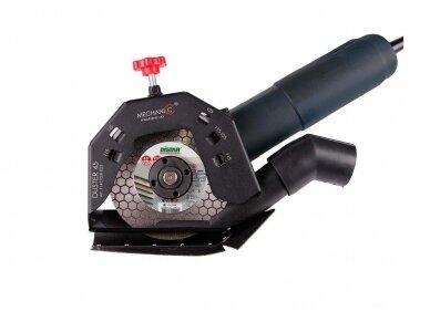 MECHANIC DUSTER 45 (115-125 mm) Priedas pjovimui be dulkių 3