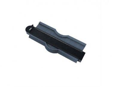 250 mm Kontūrų matuoklis šablonas trafaretas profiliams BIHUI