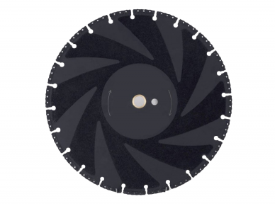 RESCUE ALL CUT 400x25.4MM Deimantinis diskas