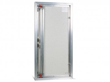 Revizinės durelės, aliumininės ETP 600 x 1200 4