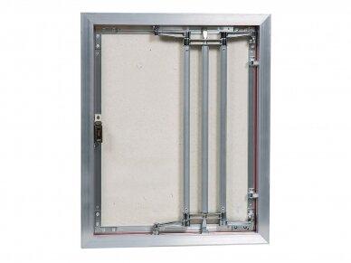 Revizinės durelės, aliumininės ECKP 400 x 500 3