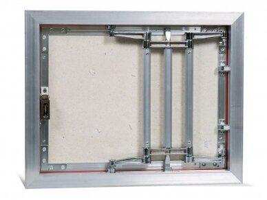 Revizinės durelės, aliumininės ECKP 500 x 400 3