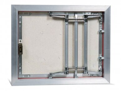 Revizinės durelės, aliumininės (plytelėms) ECKP 500 x 400 3