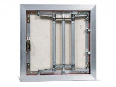 Revizinės durelės, aliumininės (plytelėms) ECKP 500 x 500 3