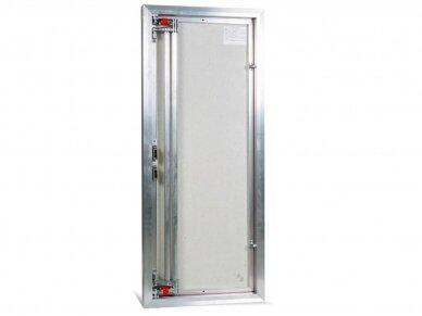 Revizinės durelės, aliumininės ETP 500 x 1000 3