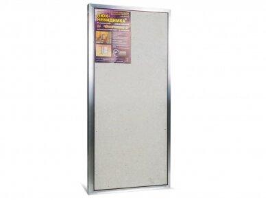 Revizinės durelės, aliumininės (plytelėms) ETP 500 x 1000 4