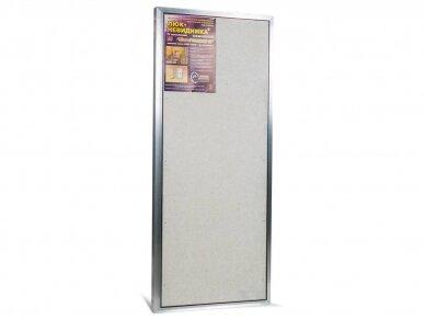 Revizinės durelės, aliumininės ETP 500 x 1200 4