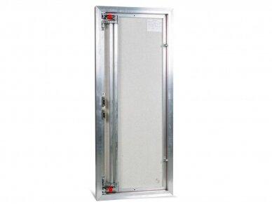 Revizinės durelės, aliumininės ETP 500 x 1200 3