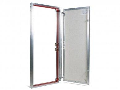 Revizinės durelės, aliumininės ETP 500 x 1200