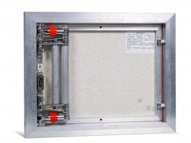 Revizinės durelės, aliumininės (plytelėms) ETP 500 x 400 3