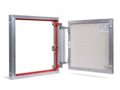 Revizinės durelės, aliumininės ETP 500 x 500