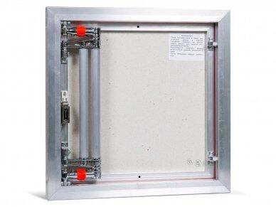 Revizinės durelės, aliumininės (plytelėms) ETP 500 x 500 3