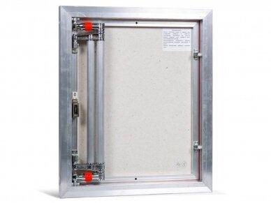 Revizinės durelės, aliumininės (plytelėms) ETP 500 x 600 3