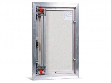 Revizinės durelės, aliumininės ETP 500 x 700 3