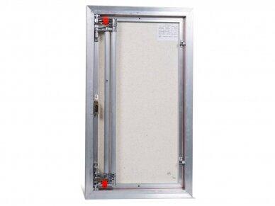 Revizinės durelės, aliumininės (plytelėms) ETP 500 x 800 3