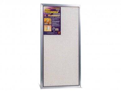 Revizinės durelės, aliumininės ETP 500 x 800 4