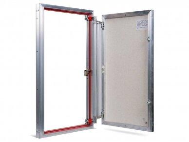 Revizinės durelės, aliumininės (plytelėms) ETP 500 x 800