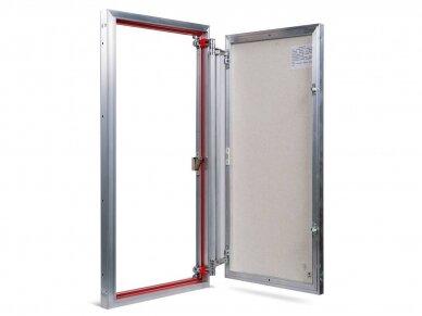 Revizinės durelės, aliumininės ETP 500 x 900